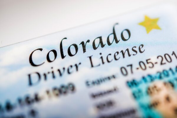 Colorado Drivers License Traffic Ticket